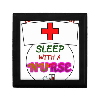 feel safe night sleep nurse, gift for nurses shirt gift box
