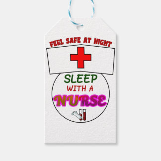 feel safe night sleep nurse, gift for nurses shirt gift tags