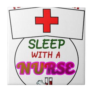 feel safe night sleep nurse, gift for nurses shirt tile