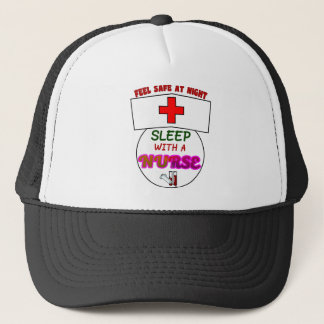 feel safe night sleep nurse, gift for nurses shirt trucker hat
