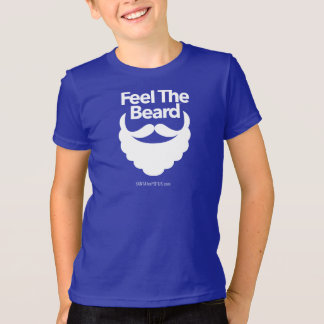 """Feel The Beard"" kid's American Apparel tee"