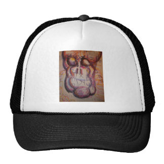 Feel the being of number mesh hat