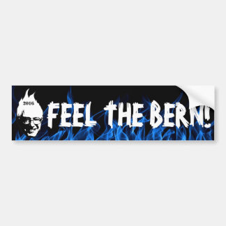 FEEL THE BERN - Bernie Sanders 2016 Bumper Sticker