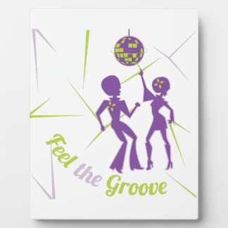 Feel The Groove Plaque
