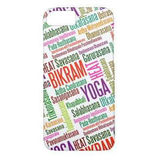 Feel the Heat Bikram Yoga Practioner's Asanas iPhone 8/7 Case