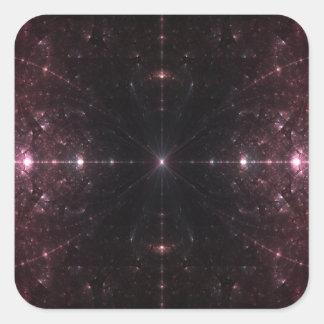 Feel the Infinite Coils Square Sticker