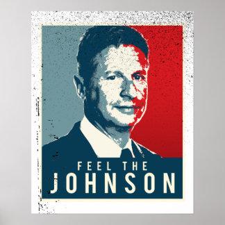 Feel the Johnson - Gary Johnson Propaganda Poster