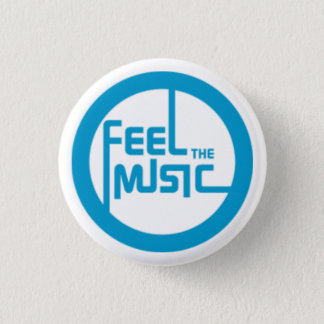 Feel the Music 3 Cm Round Badge