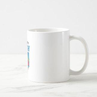 FEEL THE RUSH COFFEE MUG