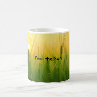 Feel the Sun by storeman Coffee Mug