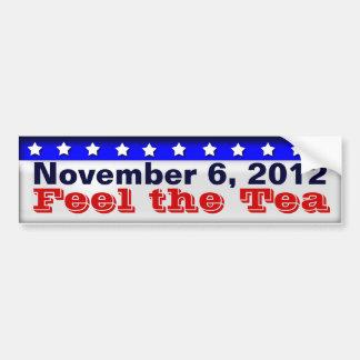 Feel the Tea Bumper Sticker
