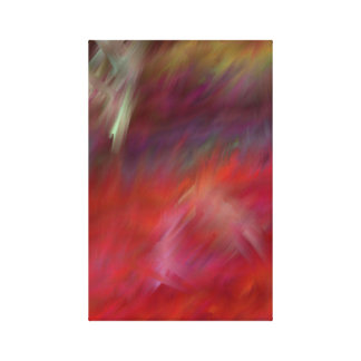 Feel the Warmth Abstact Modern Art Canvas Print