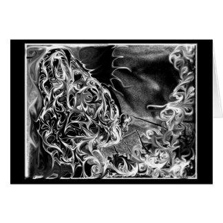 feelers ~ beautiful dark surreal digital art card