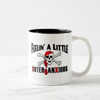 Feelin' a Little Outerbanxious Pirate OBX Mug