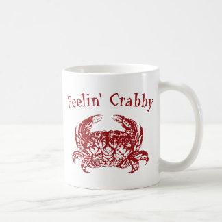 Feelin' Crabby Basic White Mug