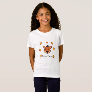 Feelin' Foxy - Girl's T-Shirt. T-Shirt