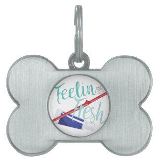 Feelin Fresh Pet ID Tag