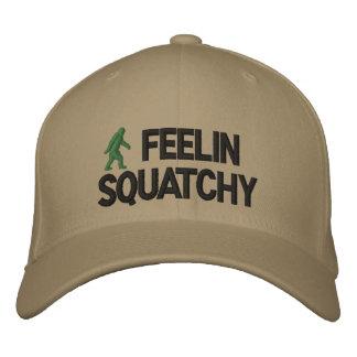 Feelin Squatchy Embroidered Baseball Caps