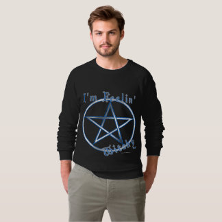 Feelin' Witchy Men's Raglan Sweatshirt