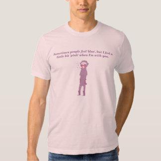 Feeling a little bit pink shirts
