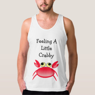 Feeling A Little Crabby Little Red Crab Singlet