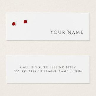 FEELING BITEY Funny Vampire Personal Calling Card