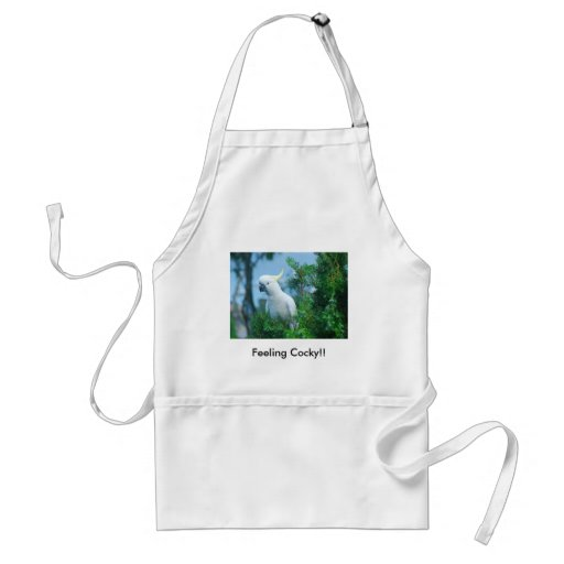 Feeling Cocky!! Aprons