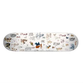 Feeling Foxy Skateboard Decks