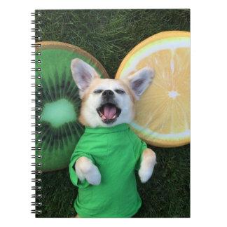 Feeling fruity! notebooks