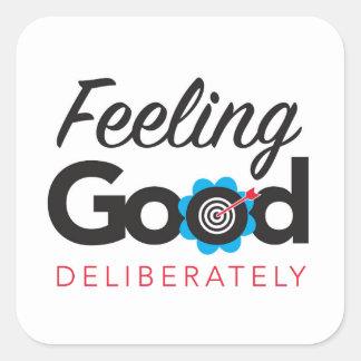 Feeling Good Deliberately - Sticker