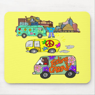 Feeling Groovy Baby Boomer Mouse Pad