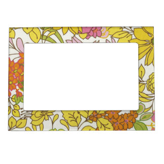 Feeling Groovy Magnetic Picture Frame