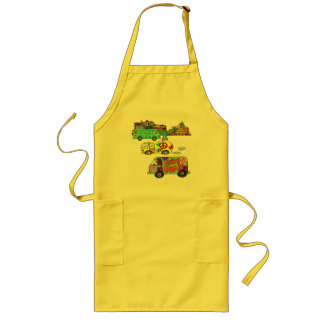 Feeling Groovy T-shirts and Gifts Long Apron