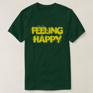 Feeling Happy Men's Basic Dark T-Shirt
