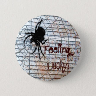 Feeling Lucky! 6 Cm Round Badge