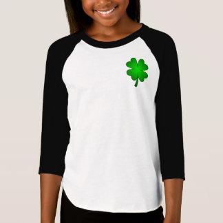 Feeling Lucky Girls Raglag long sleeve T-shirt