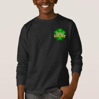 Feeling Lucky Kids dark long sleeve T-shirt