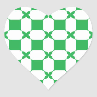 Feeling lucky today? heart sticker
