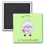 Feeling Sheepish Refrigerator Magnets