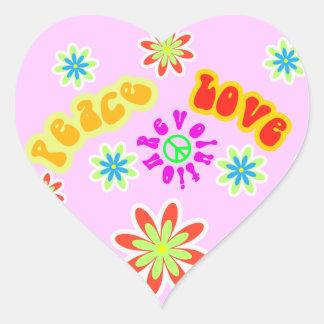 Feeling Sixties Hippy Sticker