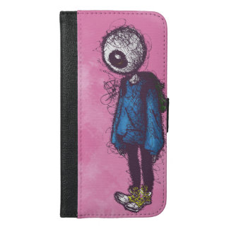Feeling Strange iPhone 6/6s Plus Wallet Case