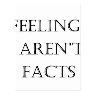 Feelings Aren't Facts Postcard
