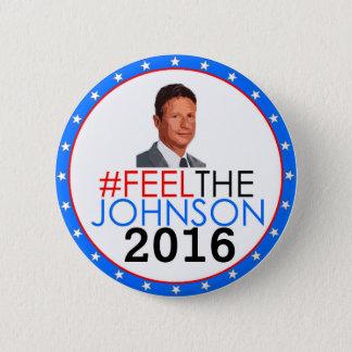#feelthejohnson Gary Johnson 2016 6 Cm Round Badge
