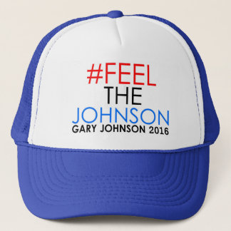 #feelthejohnson Gary Johnson 2016 Trucker Hat