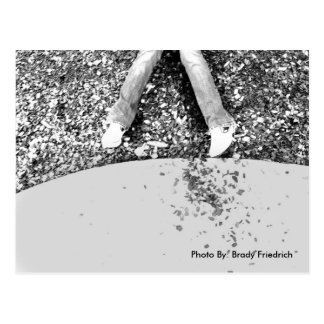 Feet and Concrete postcard