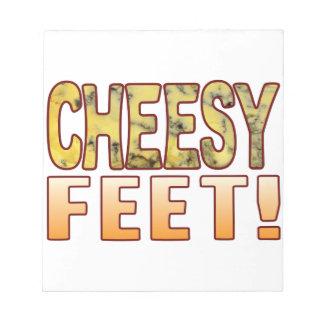 Feet Blue Cheese Notepads