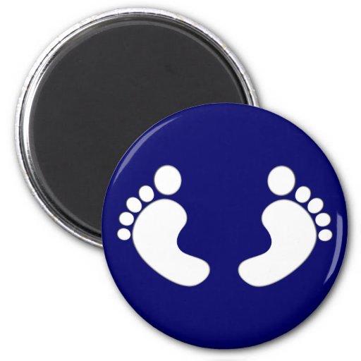 Feet footprints feet footprints refrigerator magnets