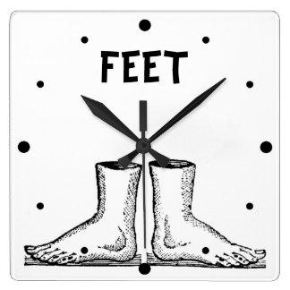 Feet Square Wall Clock