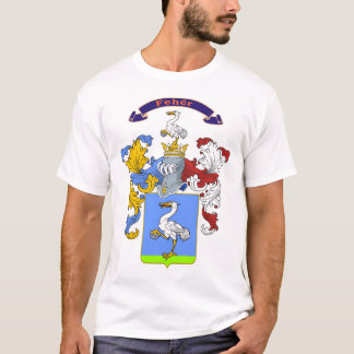 Feher Family Hungarian Coat of Arms T-Shirt