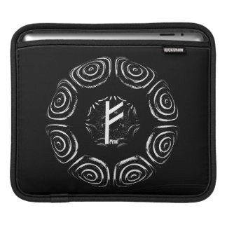 ☼Fehu - Rune of Luck & Prosperity☼ iPad Sleeve